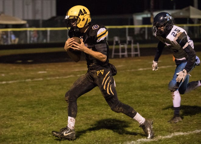 Paint Valley had eight athletes win all-SVC honors. Cruz McFadden won the special teams player of the year award.
