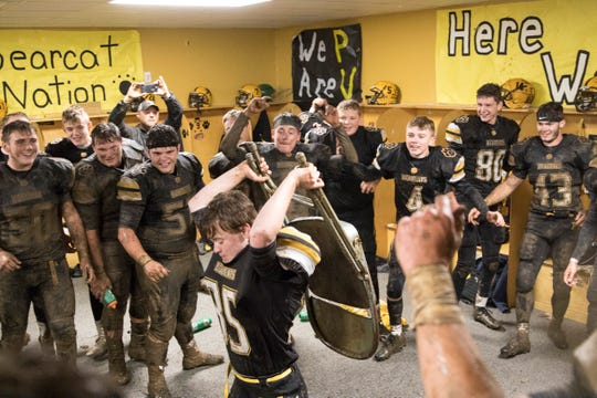 Paint Valley defeated Adena 16-3 on October 26, making them undefeated in the SVC and this year's gold ball recipients.