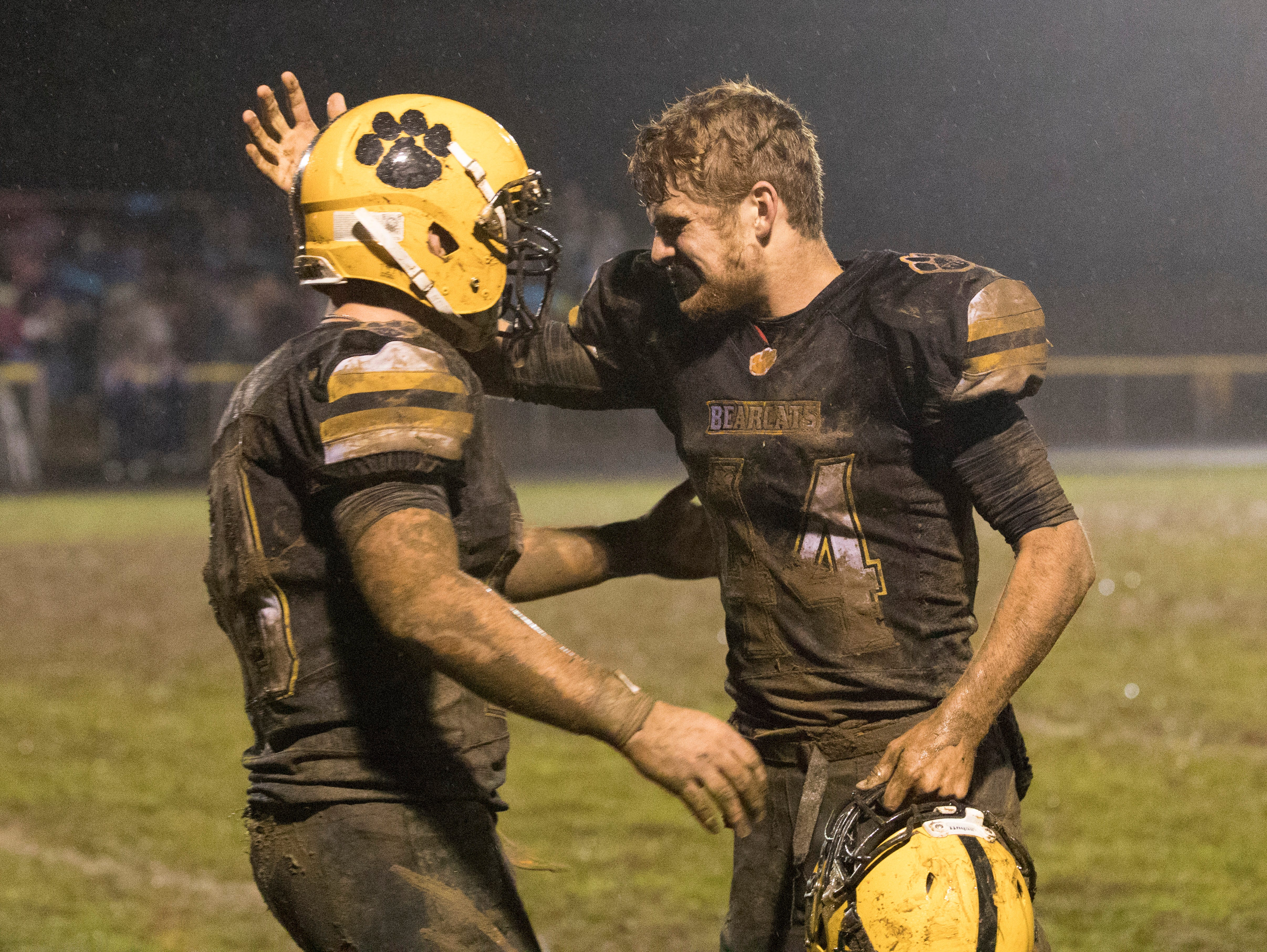 Paint Valley defeated Adena Friday night 16-3, making them undefeated in the SVC and this year's gold ball recipients.