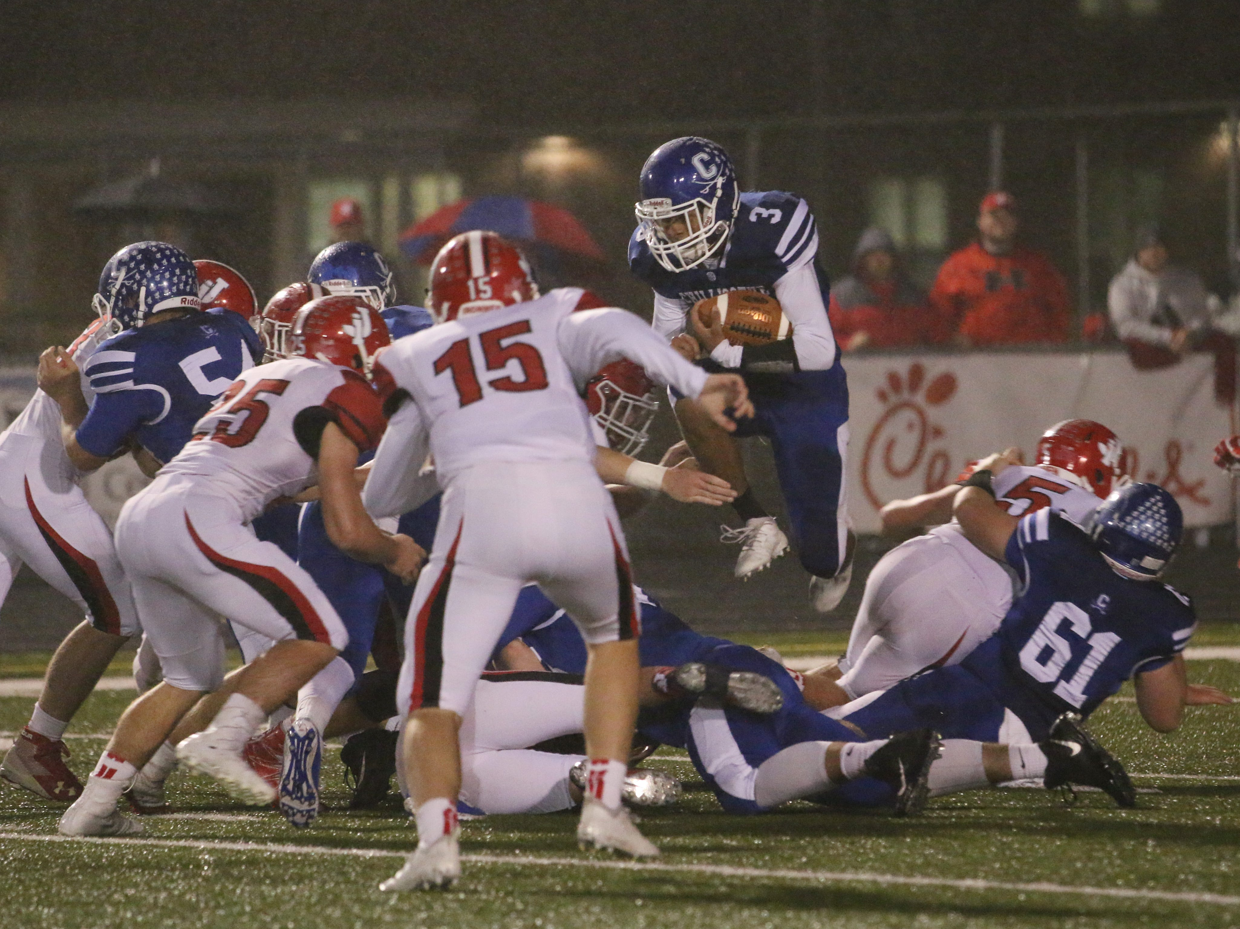 Chillicothe fell to Jackson Friday night at Chillicothe's Herrnstein's Field 20-7.