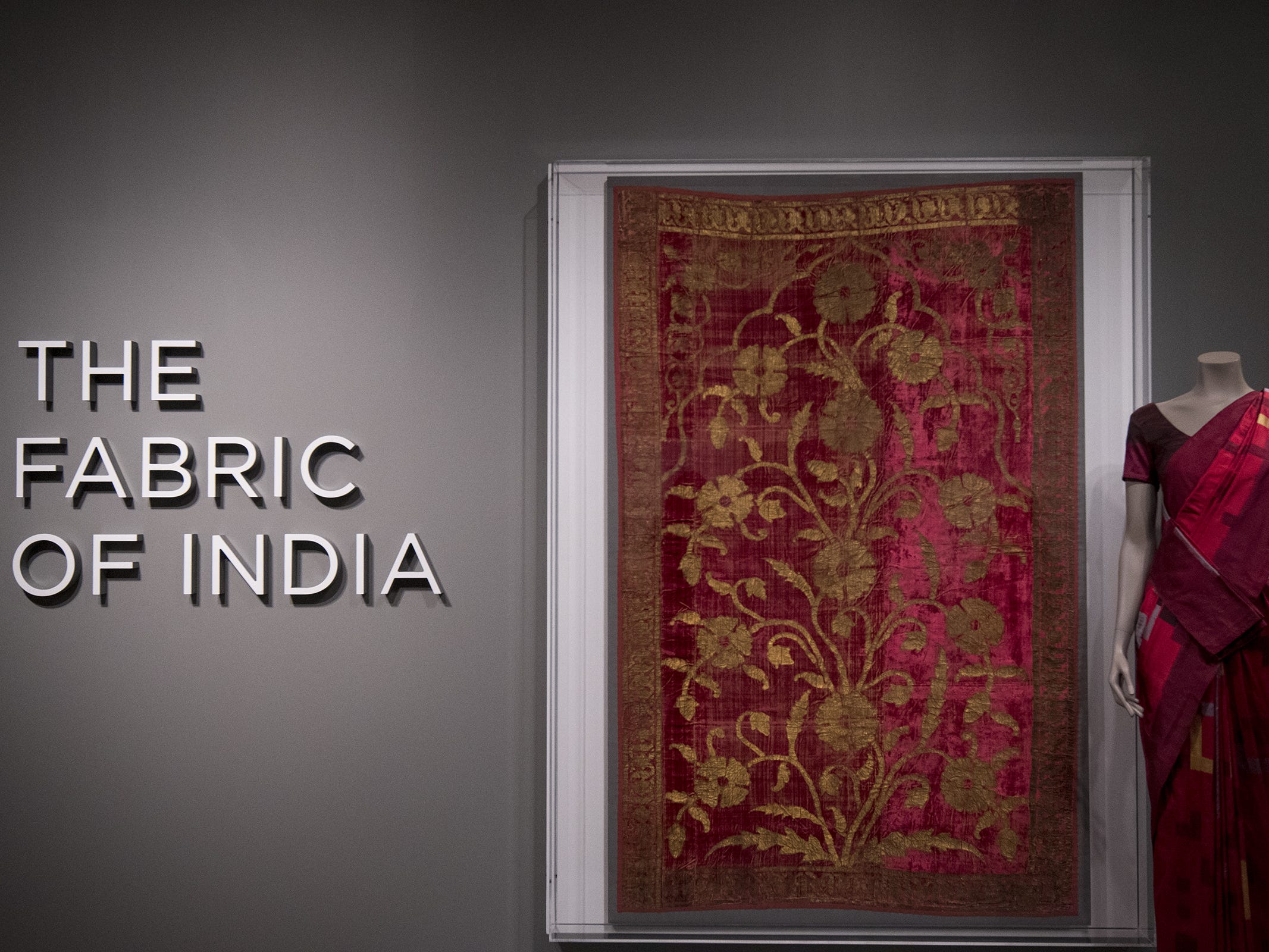 The new Fabrics of India exhibit is the center piece of this month's Art After Dark after-hours event at the Cincinnati Art Museum.