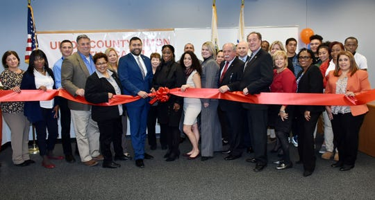 Ribbon cutting for the Simon Youth Academy, the first in the state of New Jersey, at The Mills at Jersey Gardens Mall.