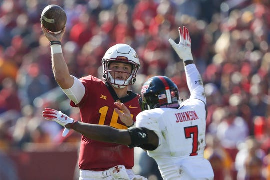 Brock Purdy, the true freshman, just led Iowa State to its third unbeaten October since 1928. The last time it happened? ... Last season.