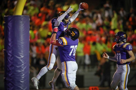 Johnston plays Southeast Polk on Friday, and the winner will advance to the Class 4A state semifinals at the UNI Dome in Cedar Falls.