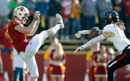 Iowa State punter Corey Dunn suffered an injury that could cost him the entire 2019 season.