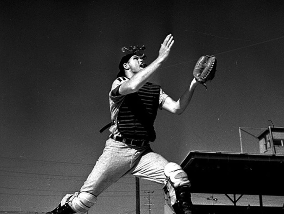 Bill Freehan during spring training in 1962.