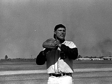 Bill Freehan at spring training in 1964.
