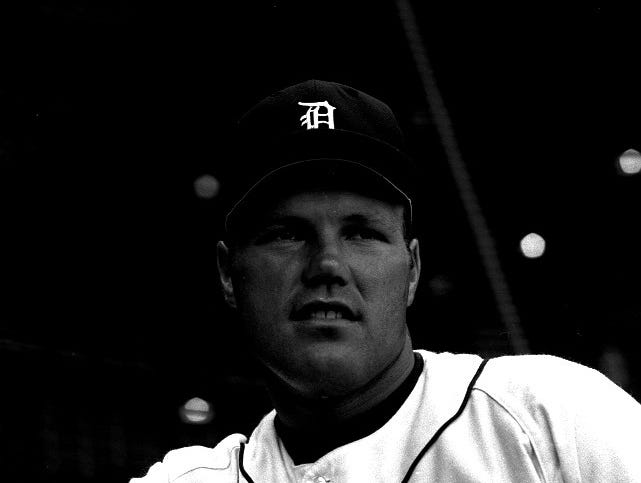 Tigers catcher Bill Freehan hit .263 with 25 home runs and 84 RBIs during the team's 1968 World Championship season. He also led the majors in getting hit by pitches 24 times.