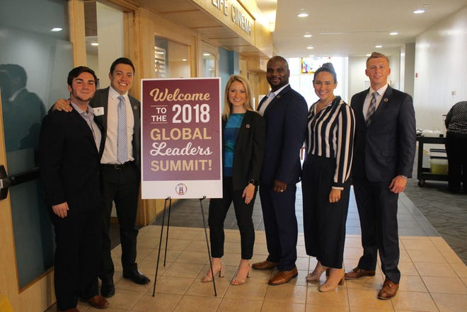 The Global Leaders Summit was a collaborative effort between FSU's United Nations Association (UNA), Student Affairs and the World Affairs Program.