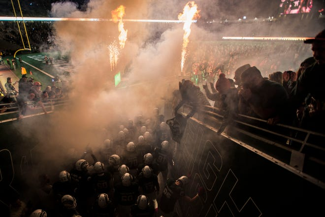 The Toledo at CSU game on Sept. 21 will kick at 8:15 p.m. and be broadcast on ESPN2.