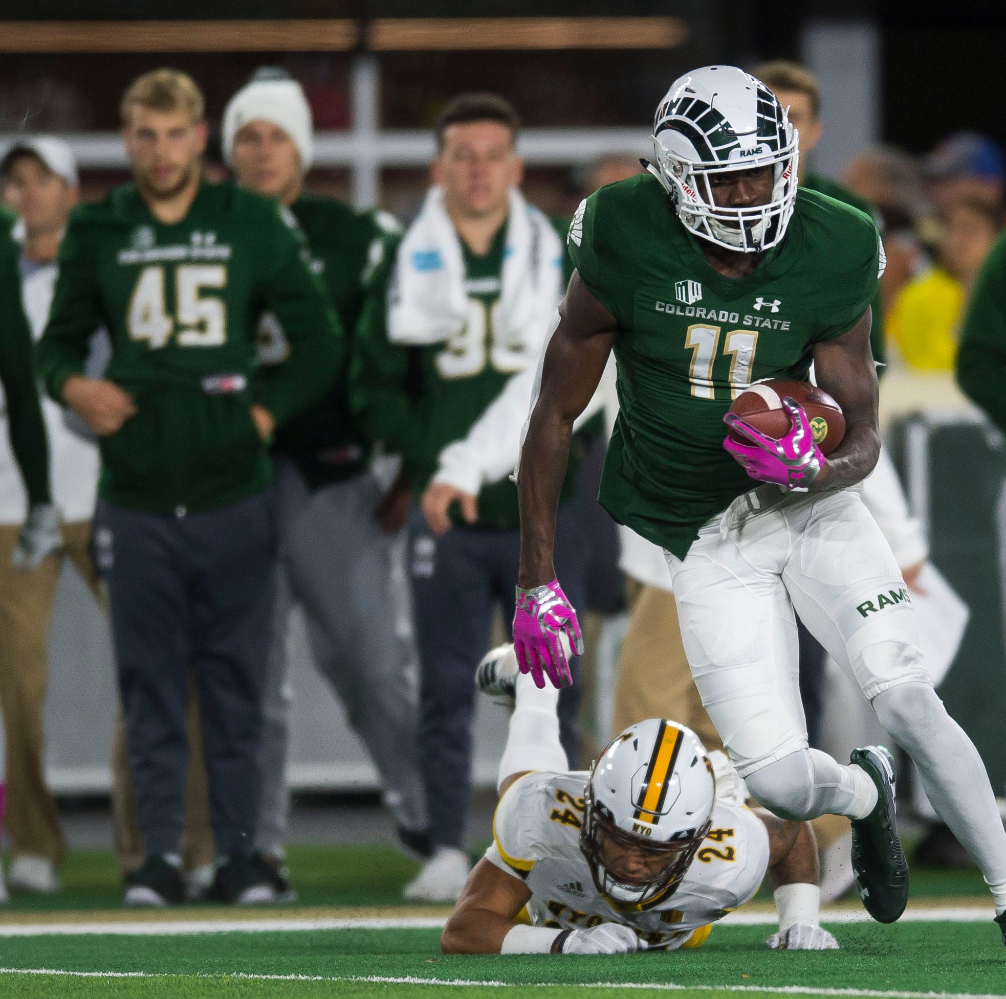 Former CSU football players Preston Williams, Josh Watson agree to NFL free-agent deals