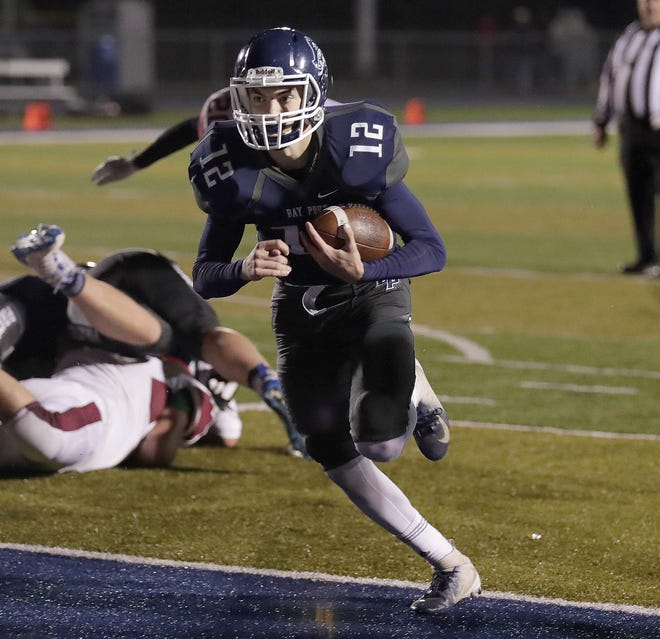 Bay Port quarterback Andrew Thomas has taken over for an injured Jake Plummer during the playoffs.