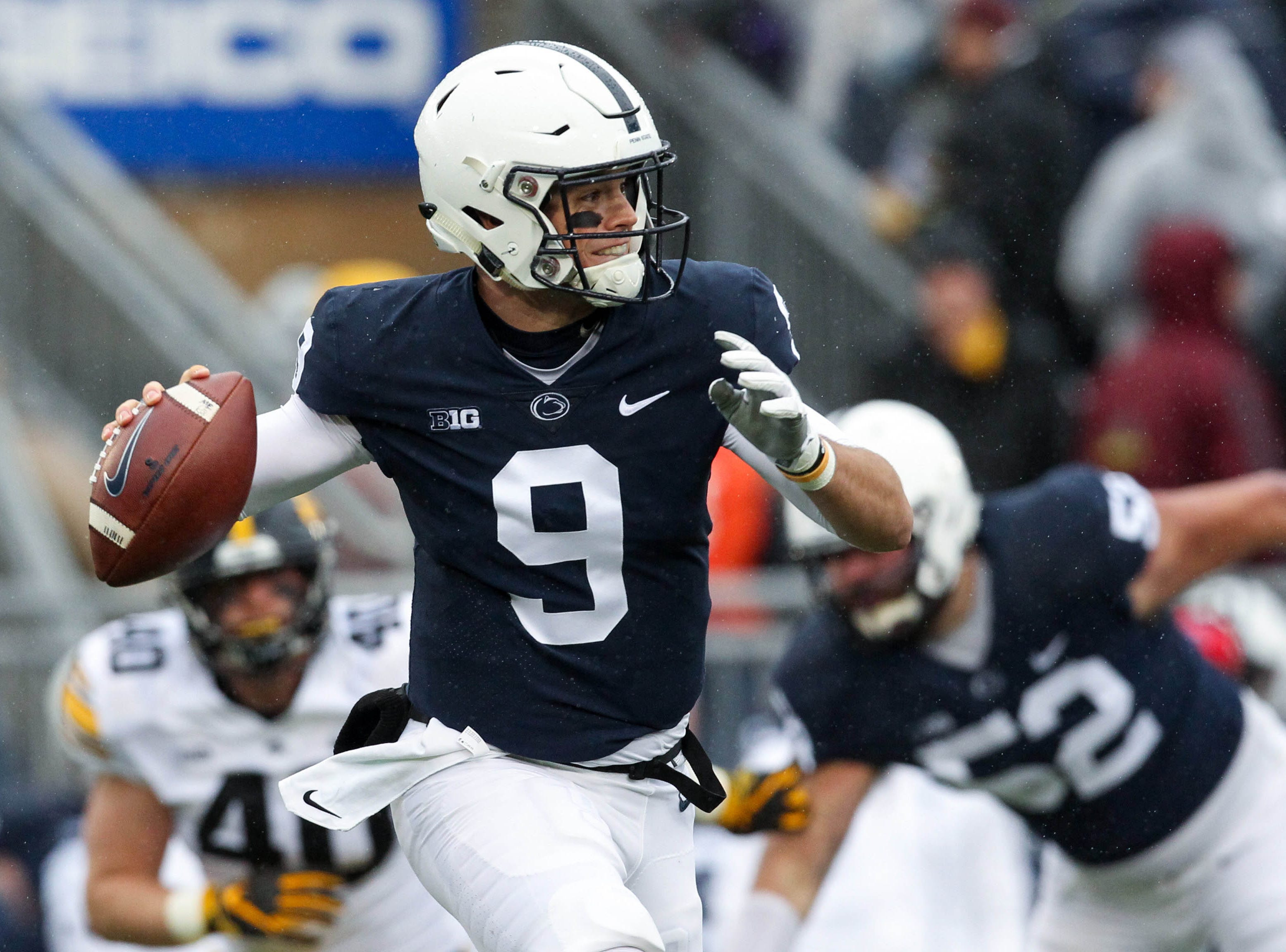 Tough-guy Trace McSorley, Penn State defense claw for critical victory over Iowa