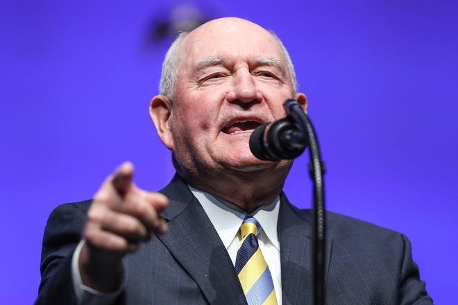 United State Secretary of Agriculture Sonny Perdue