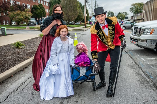 A motley, costume-clad crowd came out in droves to celebrate the spooktacular holiday at the Irvington Halloween Festival on Oct. 27, 2018.