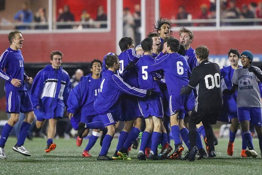 Class A Boys Soccer State Finals Between Covenant Christian And Fort Wayne Canterbury At Michael A Carroll Stadium In Indianapolis Friday Oct 26 2018