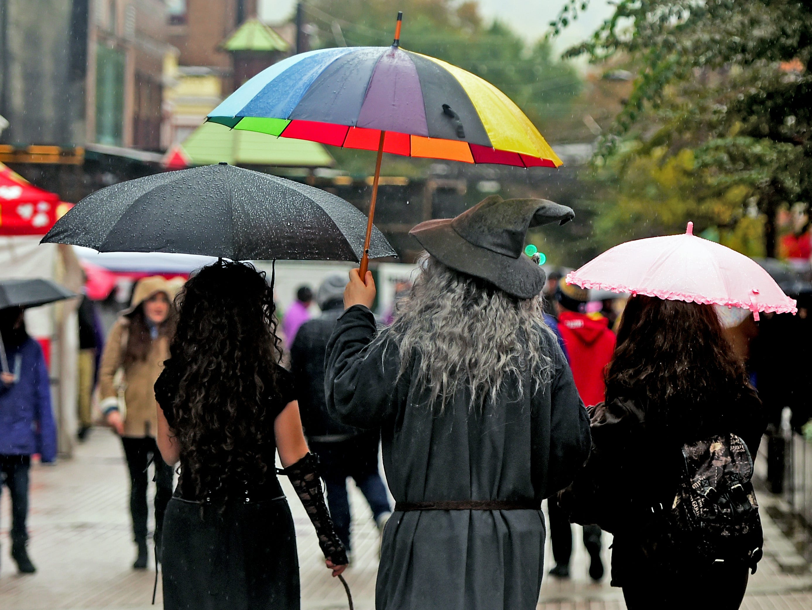 Wizarding Weekend, a family-friendly Halloween festival featuring magic, costumes, STEM activities, street vendors and celebrity appearances, returned to downtown Ithaca on Saturday, October 27, 2018.