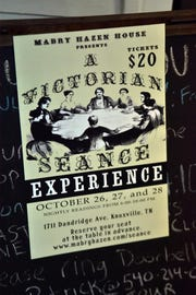 Mabry-Hazen House is hosting a Victorian Seance Experience Oct. 26-28.