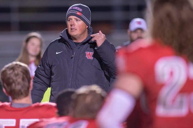 """""""I was ready to get up and play,"""" West Lafayette head coach Shane Fry said after hearing motivational letters from Red Devils football alumni prior to the semistate victory at Fort Wayne Luers."""