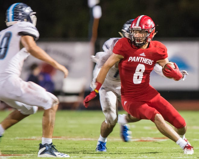 Catholic High wide receiver and UL commitment Peter LeBlanc is hoping to make a few big plays to help the Panthers knock off Country Day on Friday in Metairie.