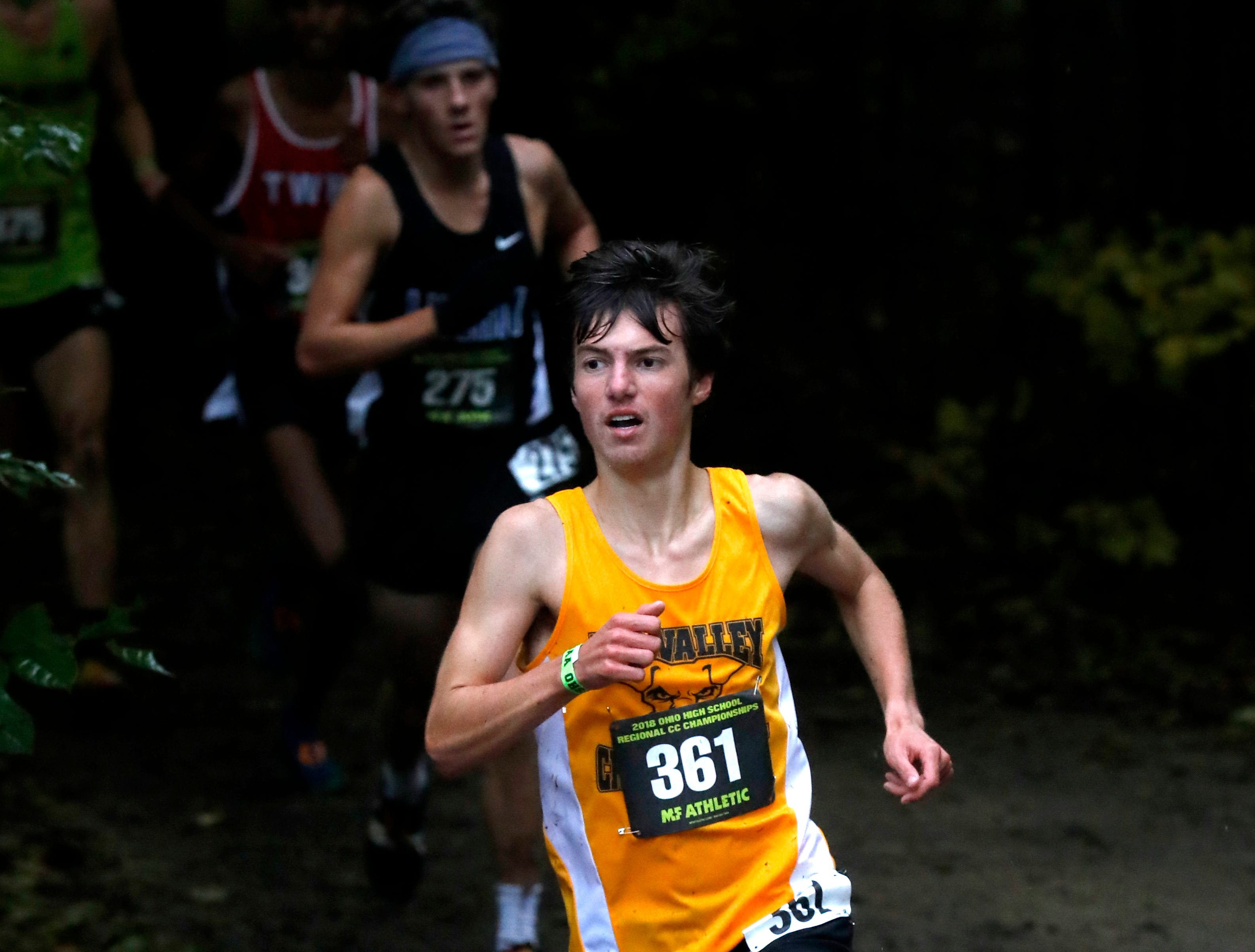 Tri-Valley's Ryan Meadows  posted his best time earlier this season of 16:13 at Thomas Worthington. His coach, Herb Fitzer said Meadows believes he can go as low as 15:30, which would be key in stepping ontothe podium.