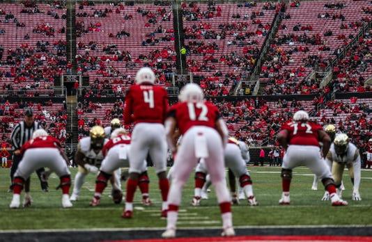 Louisville fan apathy evident in seats