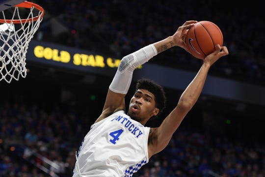 Nick Richards may not be picked in the NBA Draft, but there's no guarantee he'll return to UK.