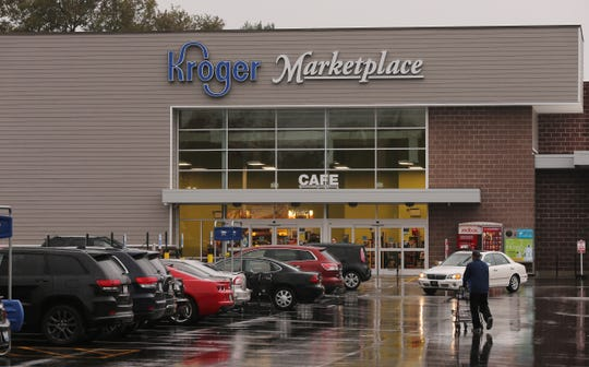 The Jeffersontown Kroger had reopened by Friday morning.