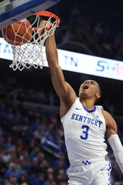 Keldon Johnson has emerged as one of Kentucky's best players.