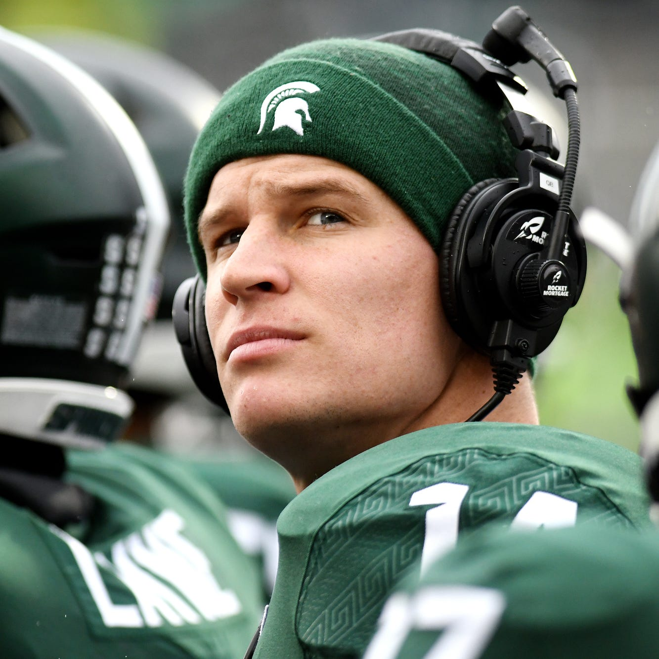 Michigan State's great QBs are mentoring Brian Lewerke. Here's how