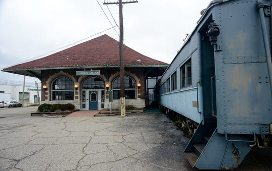 According to the Gillespie Group, the now vacant Clara's Lansing Station may be developed into a restaurant/bar and entertainment setting to compliment the planned hotel and grocery store across the street. Saturday, Oct. 27, 2018.