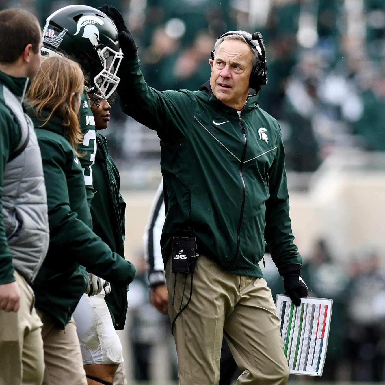 MSU coach Mark Dantonio second among Big Ten in top 25 Power Five coach rankings