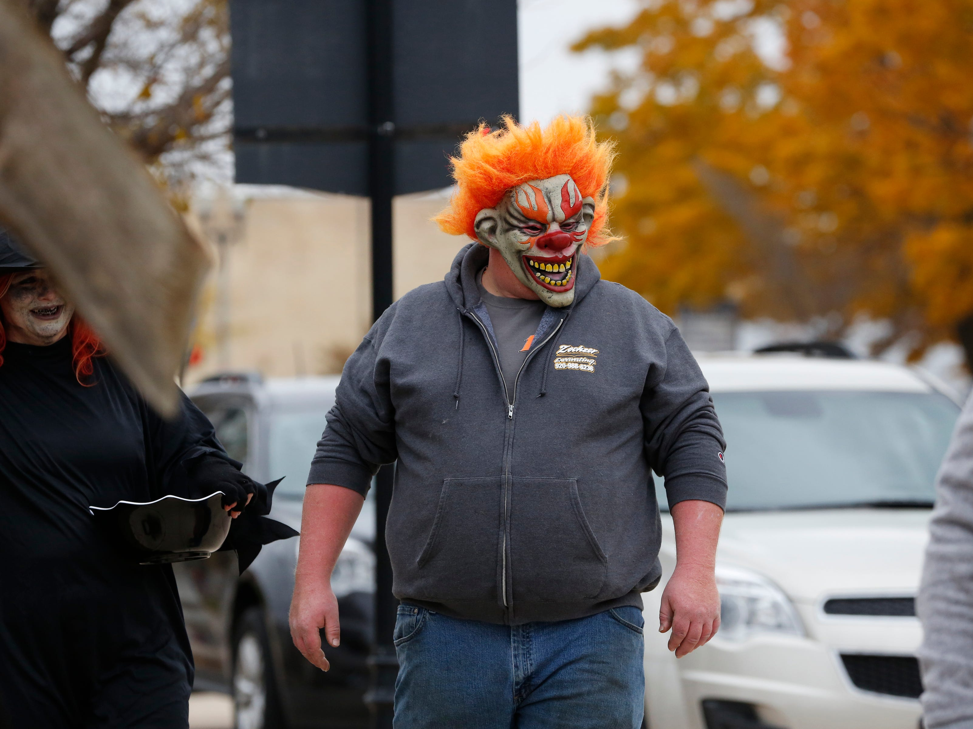 Downtown Trick or Treat Saturday, October 27, 2018, in Two Rivers, Wis. Joshua Clark/USA TODAY NETWORK-Wisconsin