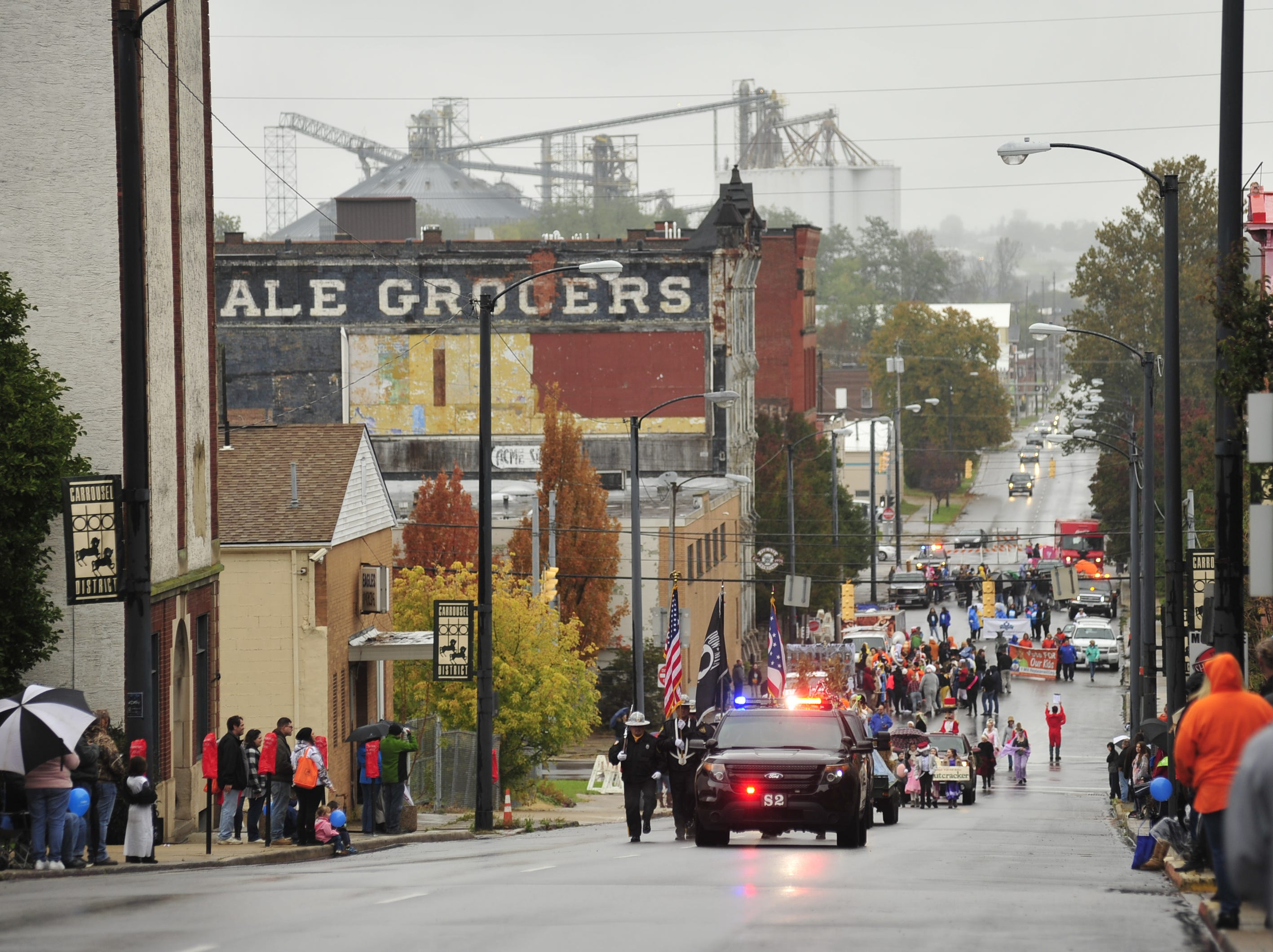 The annual downtown Mansfield Halloween parade took place on Saturday at noon.