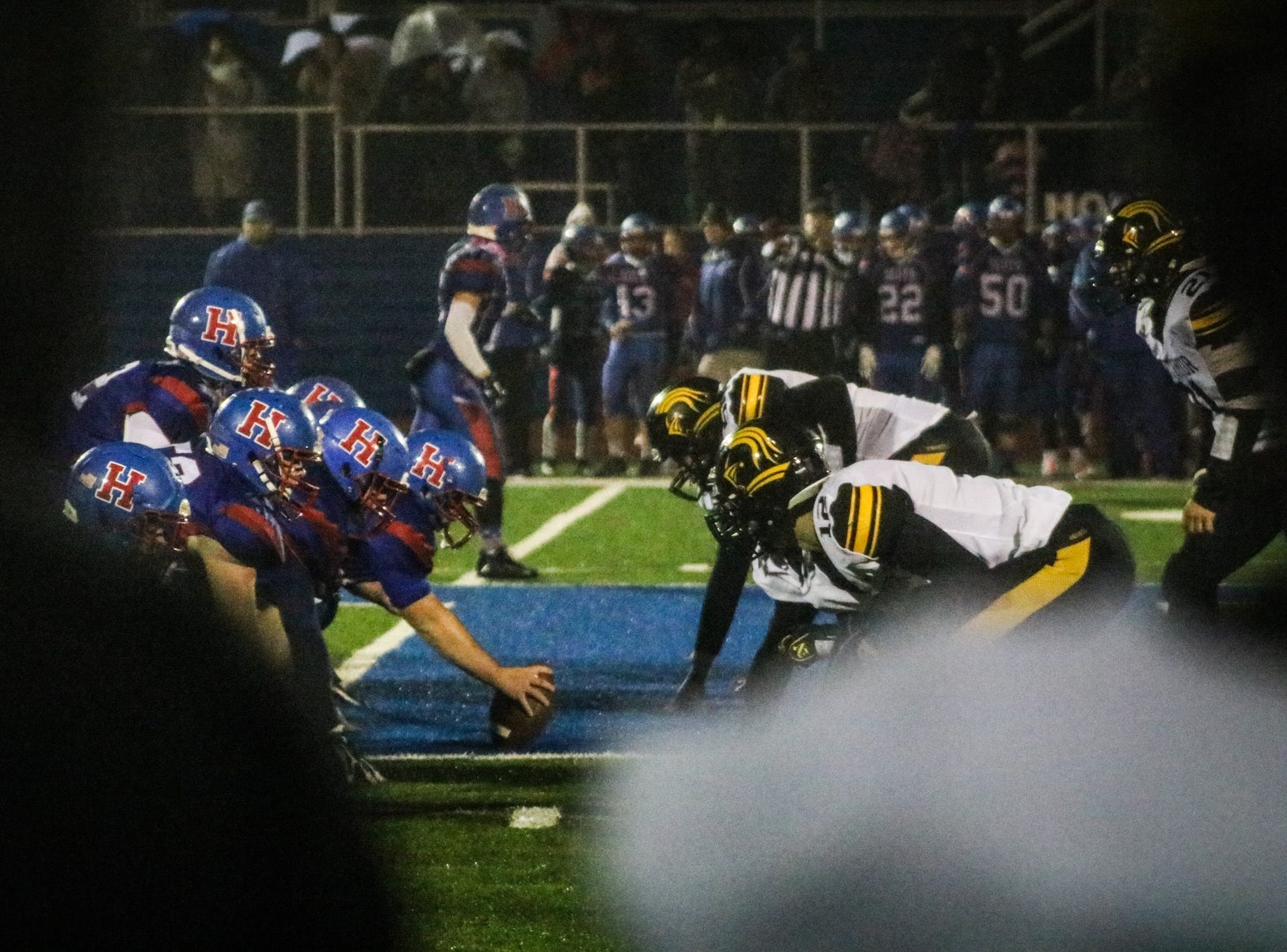 Highland earned an outright KMAC football championship after its winner-take-all matchup with Northmor at home Friday night.