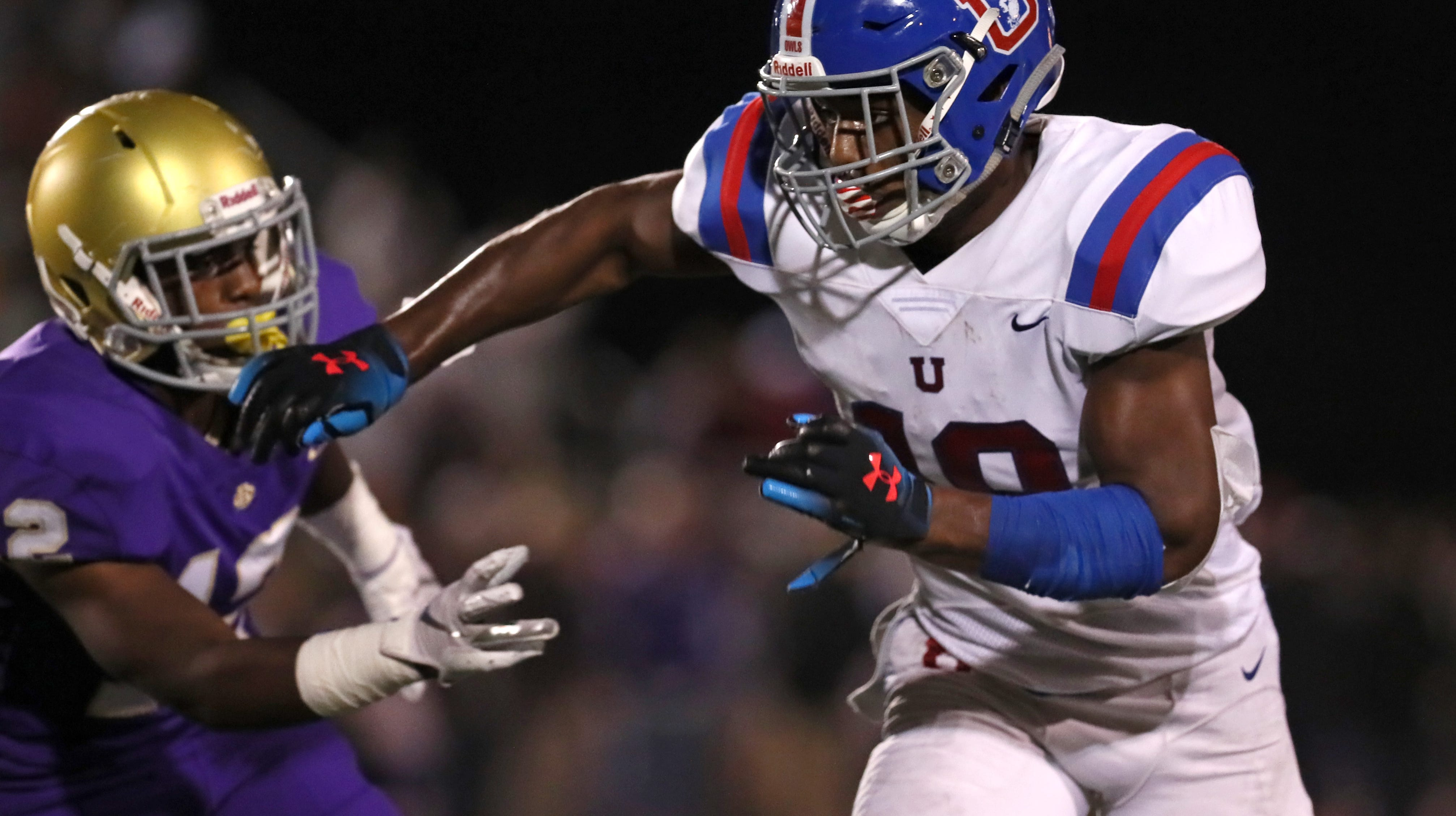 Autozone Liberty Bowl High School All Star Game Football Roster