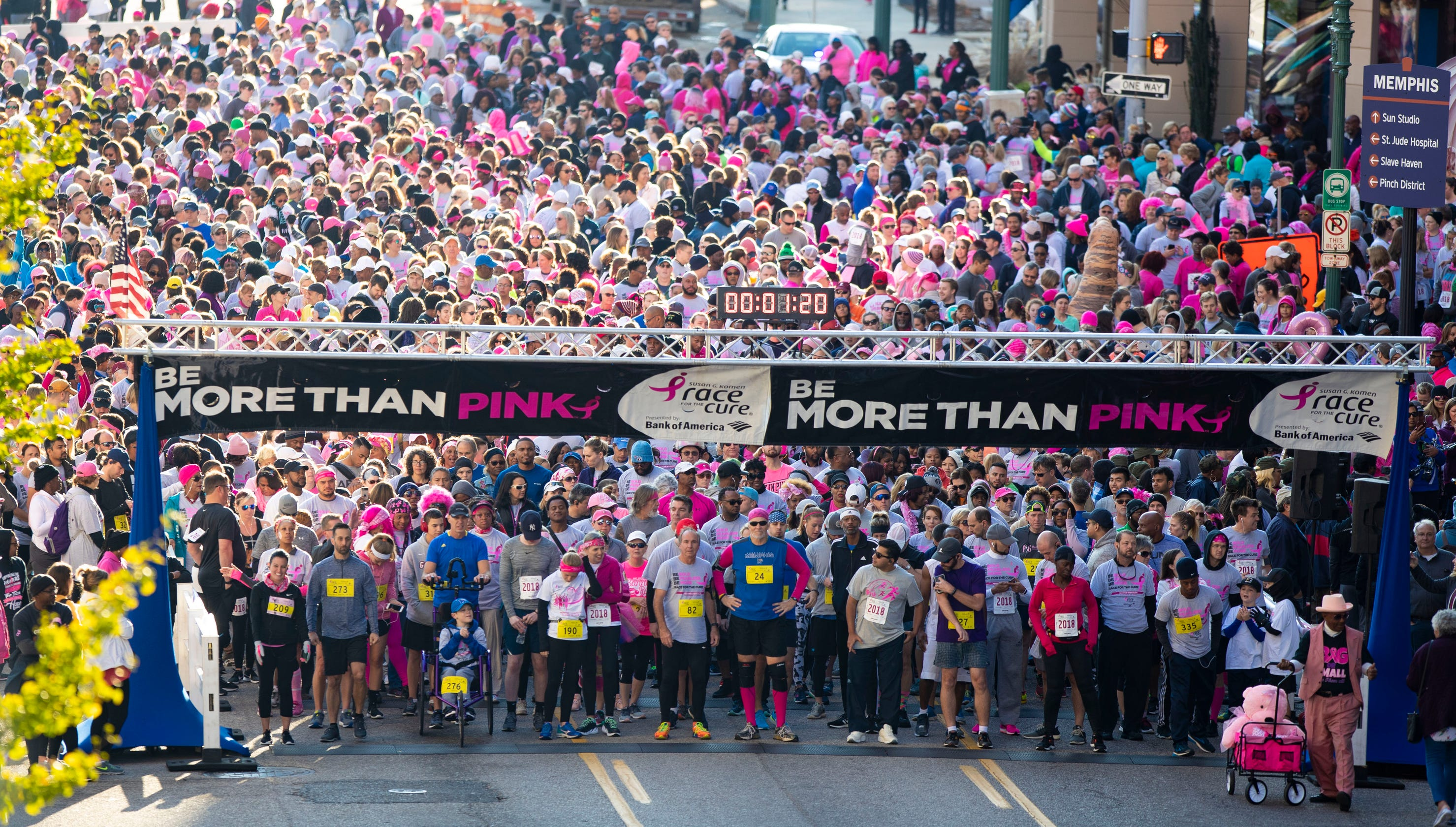 Susan G  Komen Race for the Cure draws thousands for breast cancer