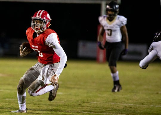 Germantown wide receiver Cameron Baker has committed to Memphis