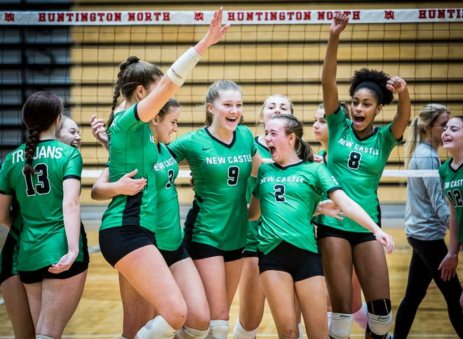 New Castle defeated New Prairie 3-0 during their semi state game at Huntington North High School Saturday, Oct. 27, 2018.