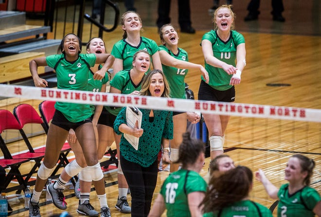 Yorktown defeated Penn 3-0 during their semi state game at Huntington North High School Saturday, Oct. 27, 2018.