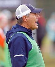 Beech coach John Ferguson