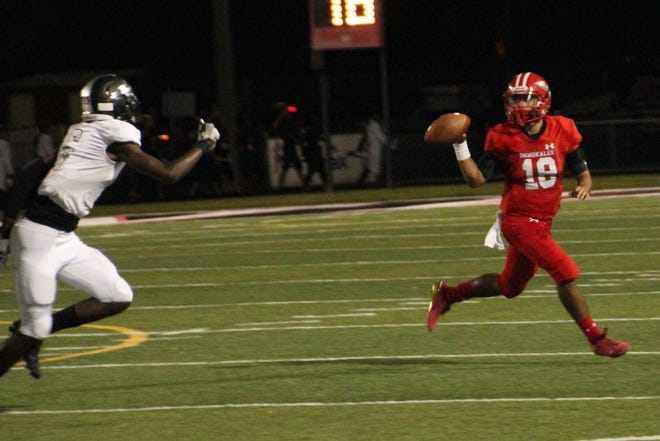 Immokalee quarterback RJ Rosales leads all of Collier County with 1,909 passing yard. He has 161 completions on 275 attempts and seven interceptions. He's also thrown for 16 touchdowns.