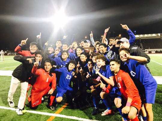 Passaic Tech won the 2018 Passaic County boys soccer championship.