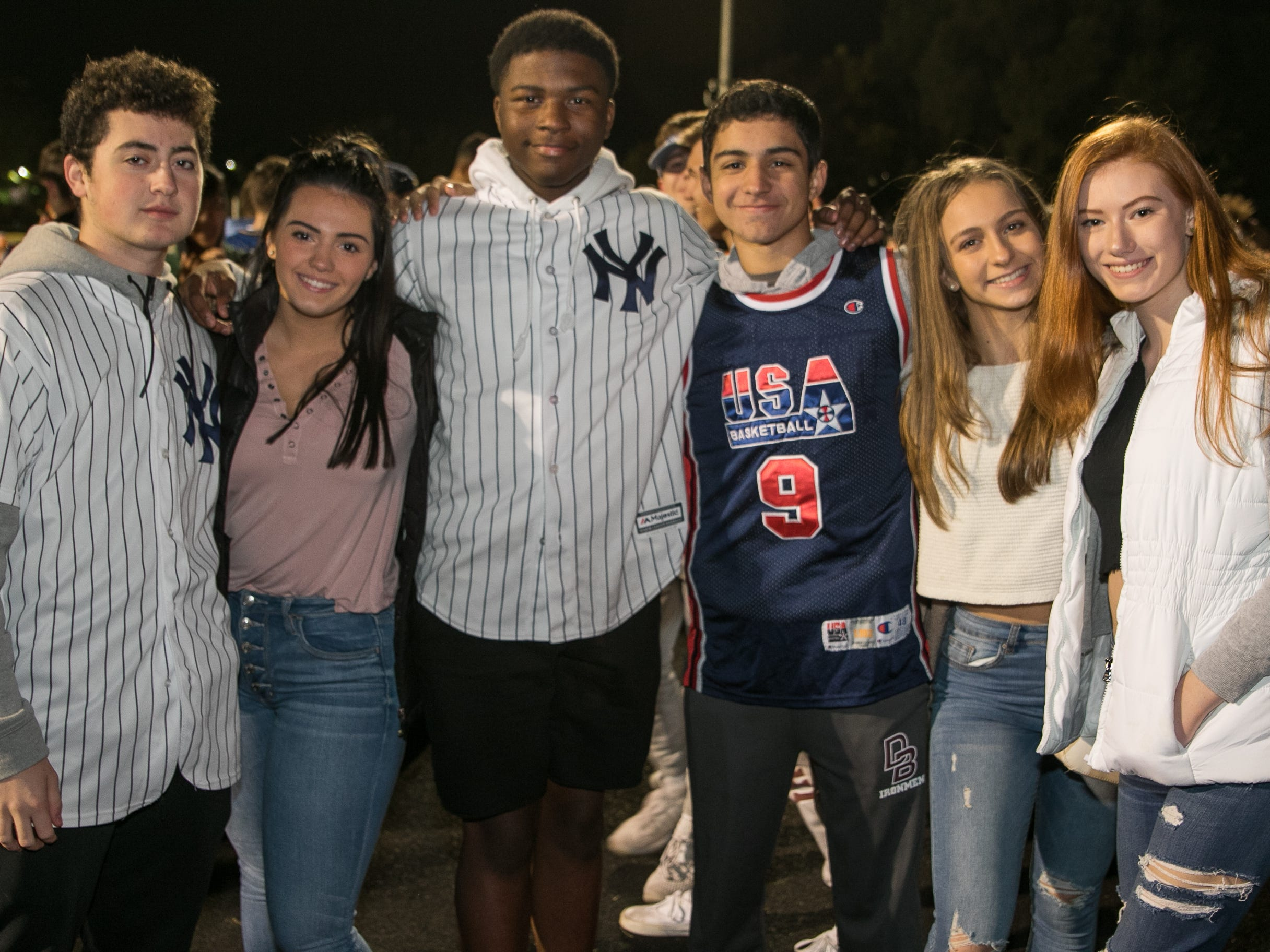 Fans at the Don Bosco Prep versus Paramus Catholic high school football game held at Paramus Catholic High School. 10/26/2018