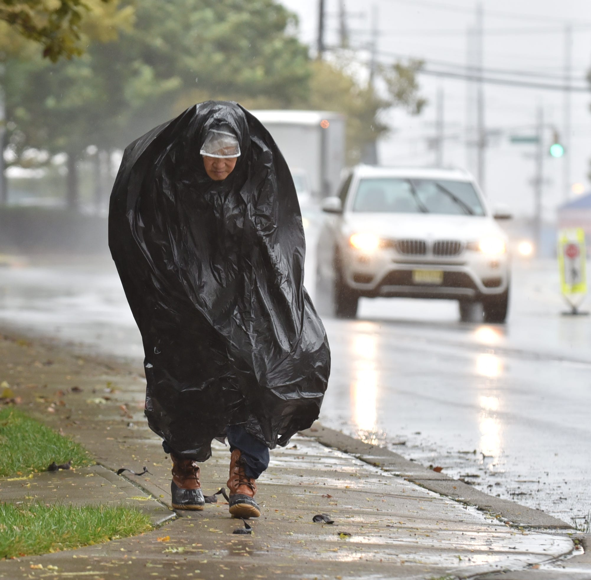 NJ Weather: Flash flood watch canceled, but wind and rain expected the rest of the day