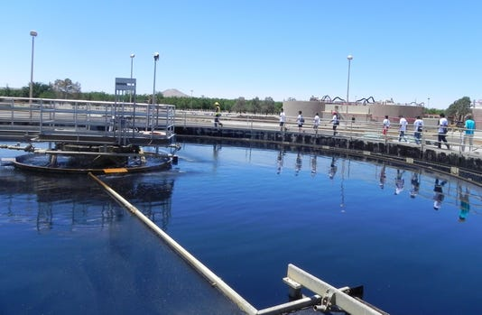 Photo Wwtf Primary Clarifier Tour