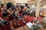 La Quinta cheer and football hold pep rally for seniors