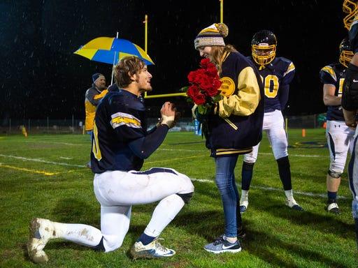 YAIAA football: Littlestown lineman talks surprise proposal