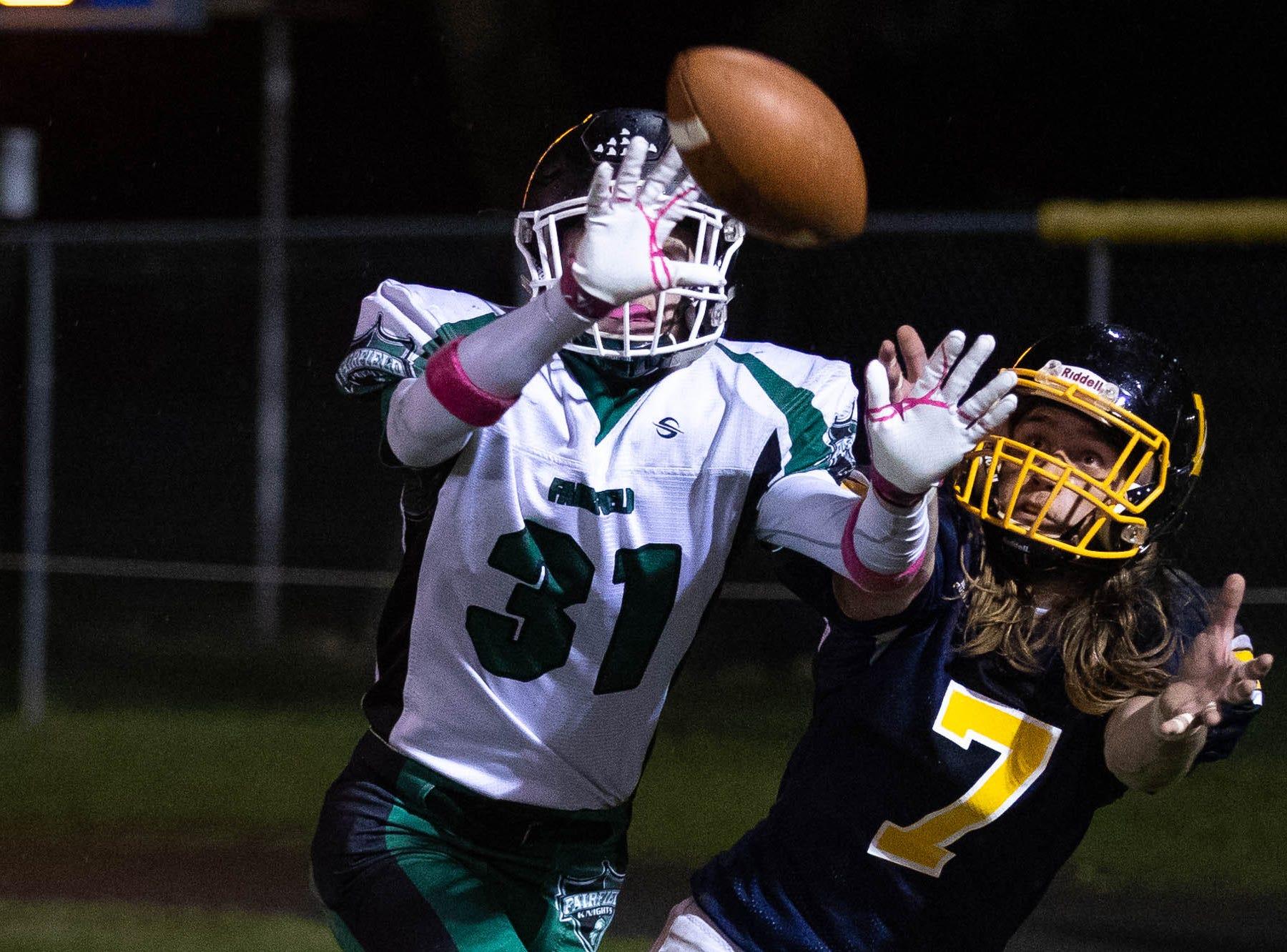 Live high school football updates: First round of District 3 playoffs on Nov. 2