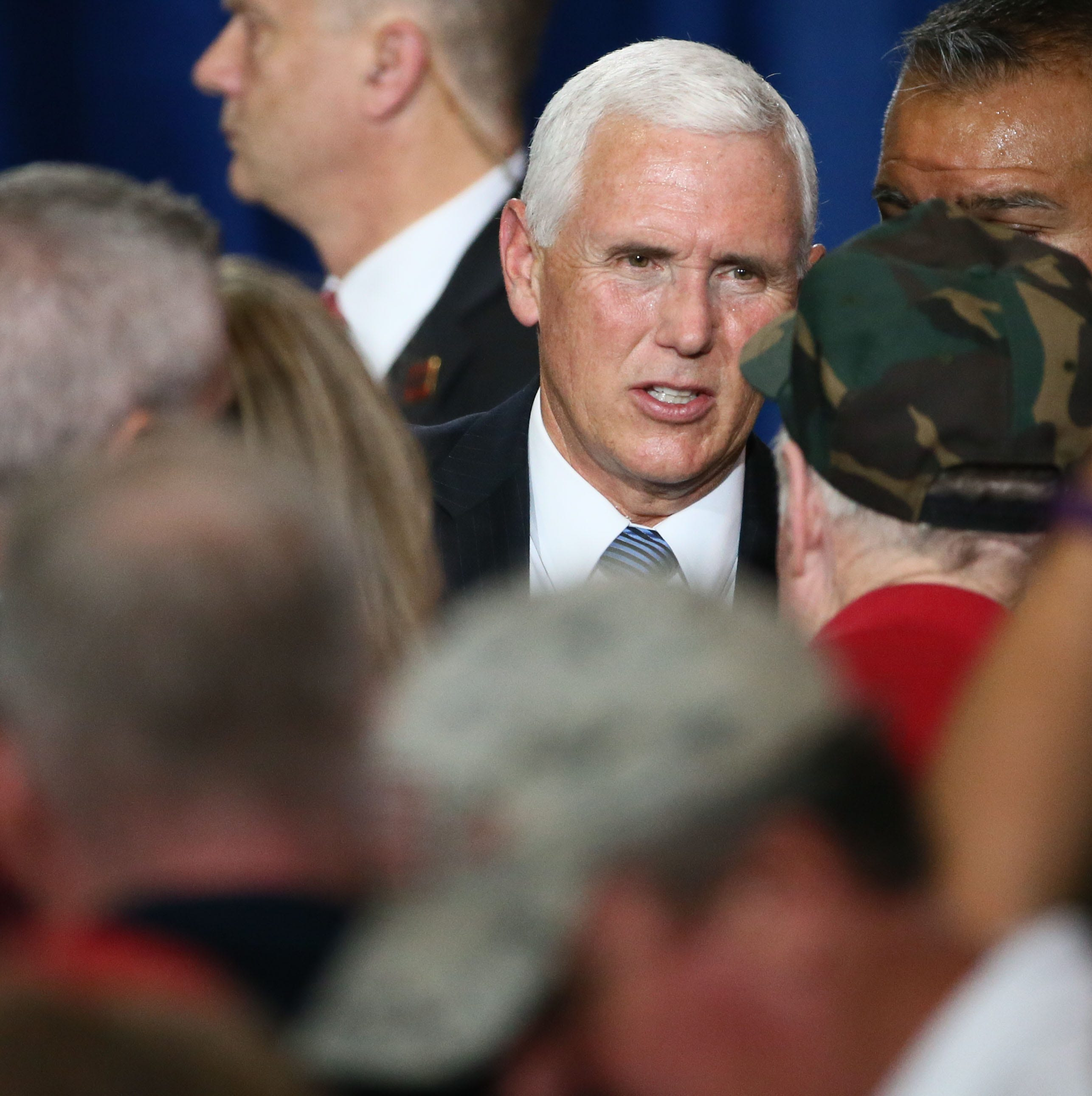 What is Vice President Mike Pence doing in Phoenix this week?